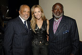 Berry Gordy Sheryl Crow and Clarence Avant at the TJ Martell Foundation's 31st Annual Awards gala at the Marriott Marquis in New York City...