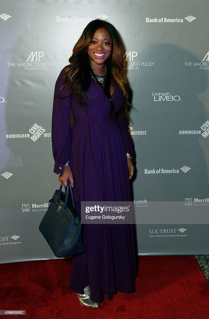 Bershan Shaw of 'Love in the City' arrives at Living in Limbo Photographs by Carolyn Sherer hosted by Merrill Lynch benefiting The Macricostas Pulley...