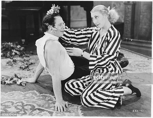 Bert Lahr and Charlotte Greenwood in Flying High