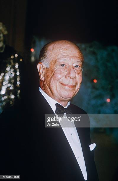 Bert Lahr in a tux closeup circa 1970 New York