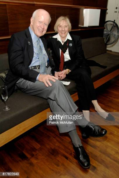 Bert McMurtry and Dede McMurtry attend OLDMAN'S BRAVE NEW WORLD OF WINE Book Launch Hosted by W W Norton and Mark Oldman at Residence of Mark Oldman...