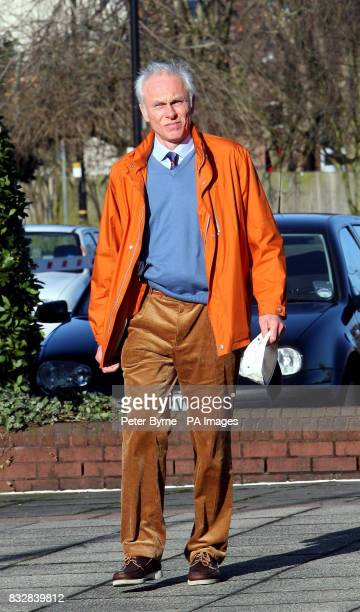 Bert Niepel from Berlin arrives at Trafford Magistrates Court