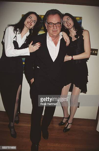 Bert Stern attends a Maria Snyder fashion show USA 1995