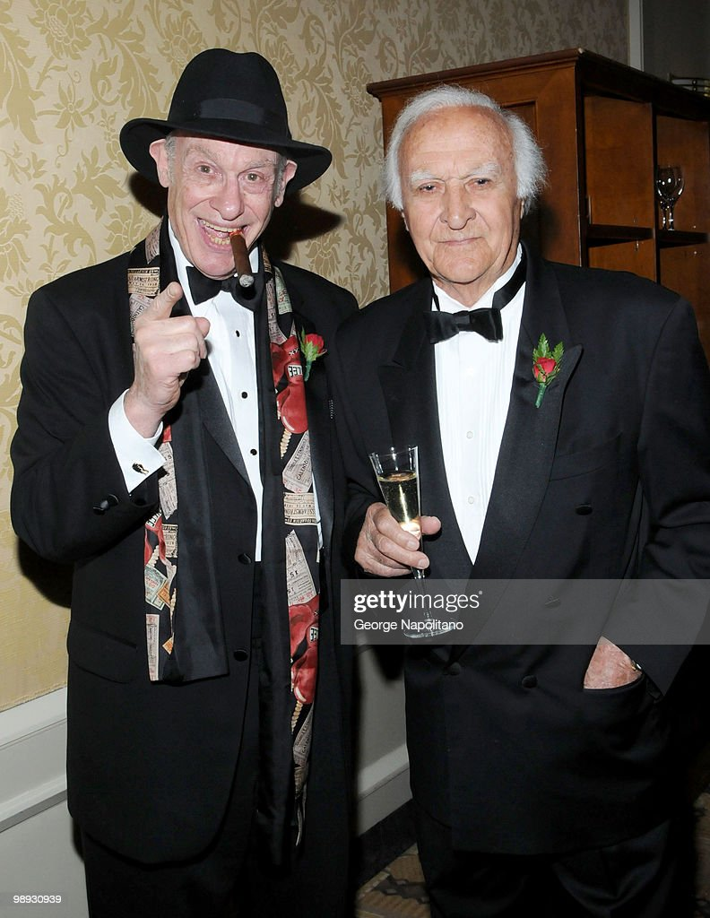 Bert Sugar and actor Robert Loggia attends the media reception for the 25th annual Ellis Island Medals Of Honor Ceremony Gala at the National Musuem...