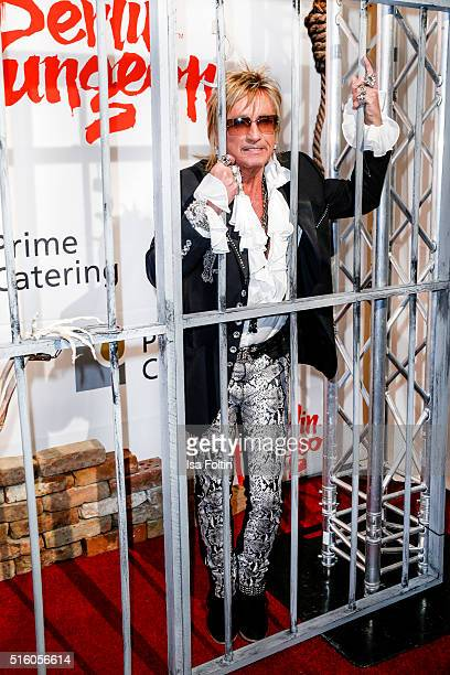Bert Wollersheim attends the Premiere Of 'Exitus' FreefallTowers At Berlin Dungeon on March 16 2016 in Berlin Germany