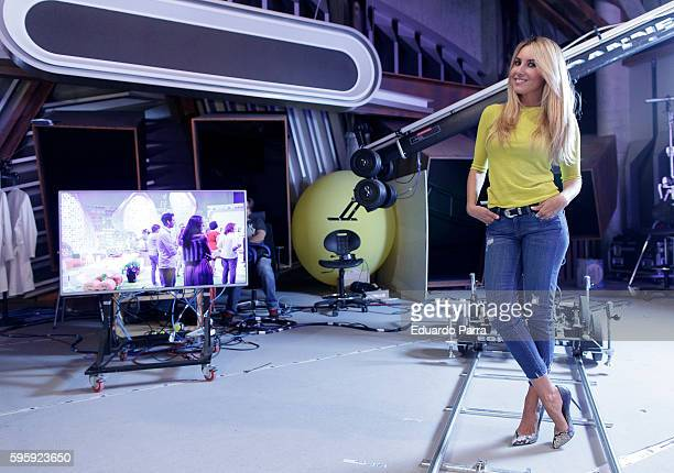Berta Collado attends a portrait session after the 'Poder Canijo' TV show press conference at Prisa studios on August 26 2016 in Madrid Spain