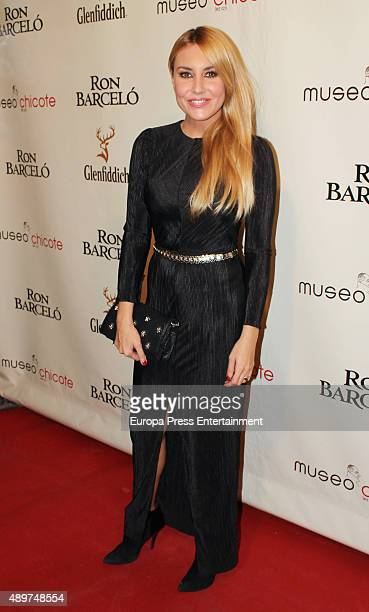 Berta Collado attends Chicote Museum Awards on September 23 2015 in Madrid Spain