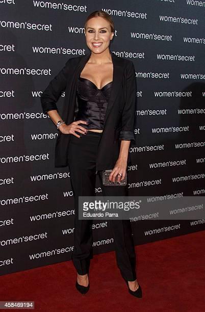 Berta Collado attends 'Dark Seduction' fashion film premiere photocall at Callao City Lights on November 5 2014 in Madrid Spain
