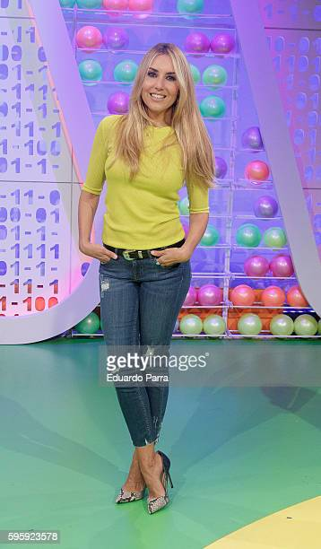 Berta Collado attends 'Poder Caniko' TV show press conference at PRISA studios on August 26 2016 in Madrid Spain