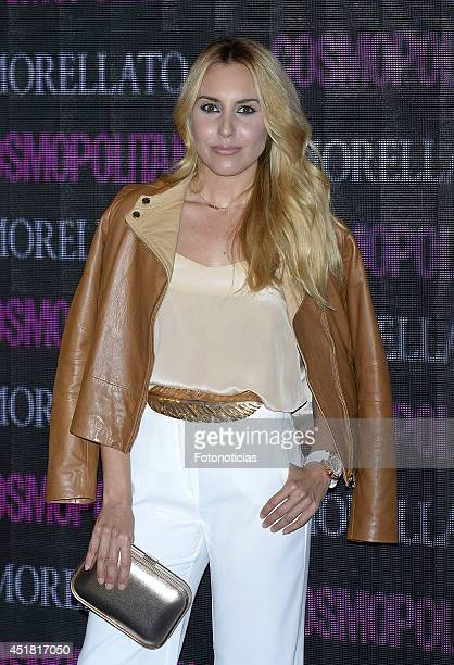 Berta Collado attends the Cosmopolitan Beauty Awards at Platea Restaurant on July 7 2014 in Madrid Spain