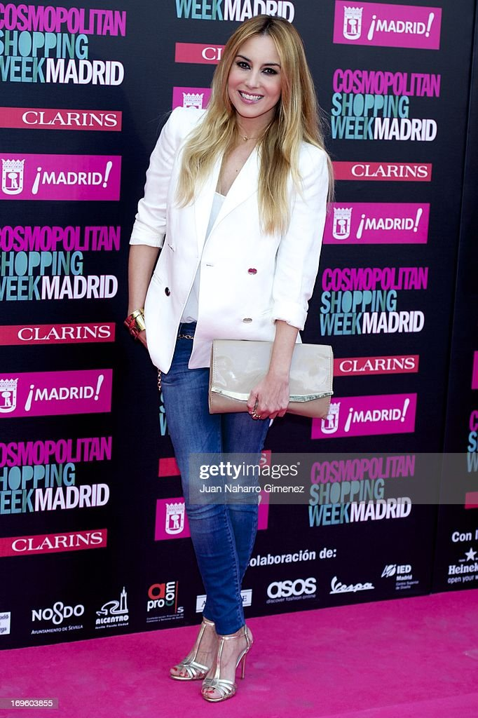 Berta Collado attends the 'Cosmopolitan Shopping Week' party at the Plaza de Callao on May 28, 2013 in Madrid, Spain.