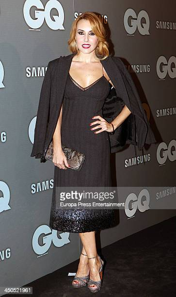 Berta Collado attends the 'GQ Men Of The Year awards 2013' on November 18 2013 in Madrid Spain
