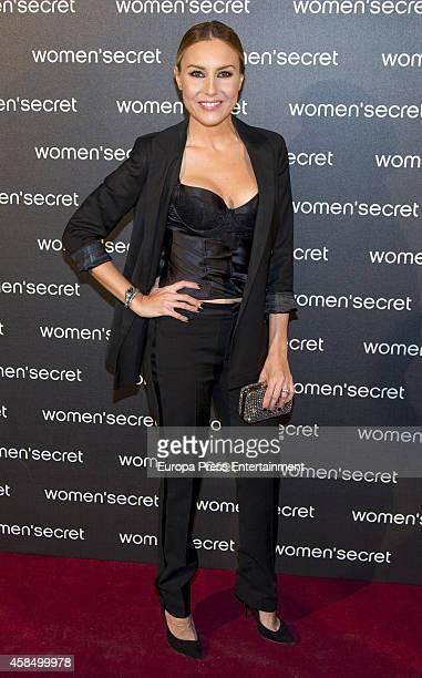 Berta Collado attends the Women Secret's 'Dark Seduction' fashion film premiere at Callao Cinema on November 5 2014 in Madrid Spain
