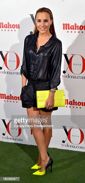 Berta Collado attends 'Yo Dona' party on September 11 2013 in Madrid Spain