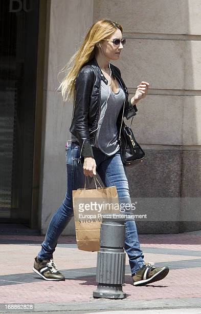 Berta Collado is seen on May 15 2013 in Madrid Spain