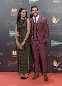 Berta Vazquez and Mario Casas attend the 'Palmeras en la Nieve' Premiere at Kinepolis Cinema on December 9 2015 in Madrid Spain