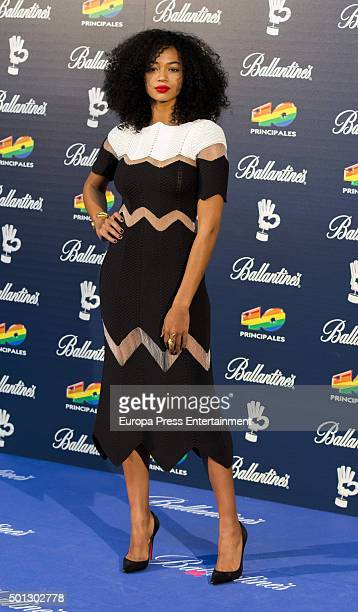 Berta Vazquez attends the 40 Principales Awards 2015 photocall at Barclaycard Center on December 11 2015 in Madrid Spain