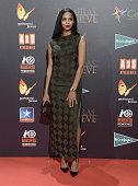 Berta Vazquez attends the 'Palmeras en la Nieve' Premiere at Kinepolis Cinema on December 9 2015 in Madrid Spain