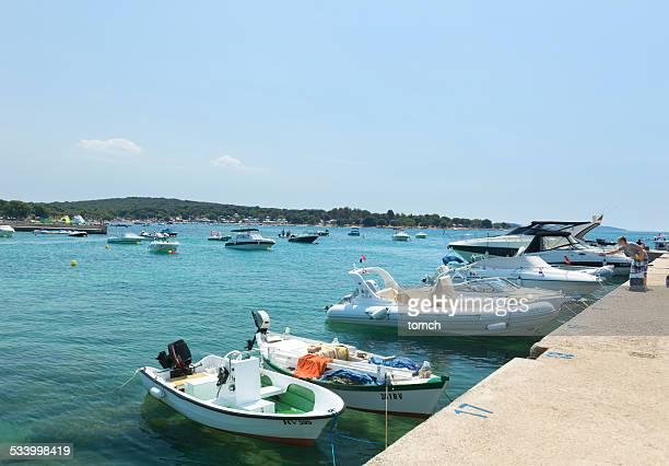 Berth for boats and yachts, Rovinj Croatia