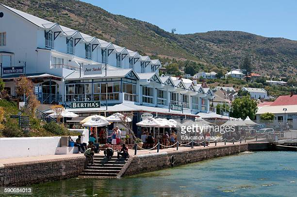 Bertha's restaurant hotel on the waterfront in Simon's Town Western cape South Africa