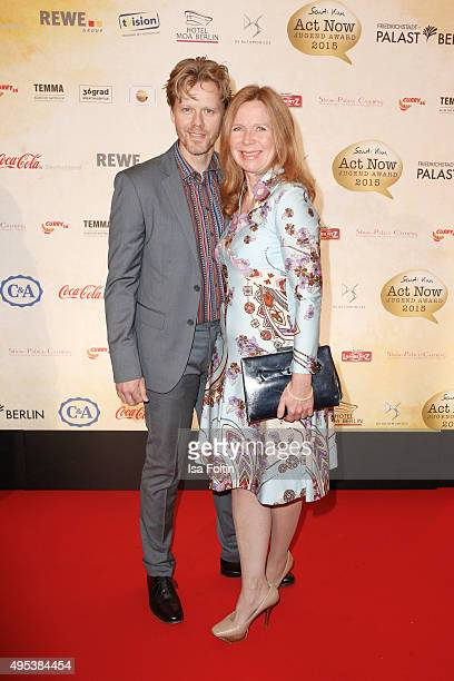 Berthold Manns and Marion Kracht attend the 1st Act Now Jugend Award at FriedrichstadtPalast on November 2 2015 in Berlin Germany