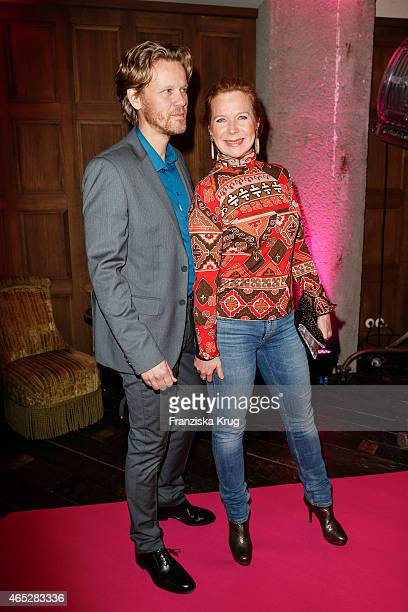 Berthold Manns and Marion Kracht attend the JT Touristik Celebrates ITB Party on March 05 2015 in Berlin Germany