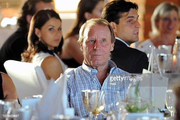 Berti Vogts attend the German World Cup Team of 1990 Meeting to celebrate their 20th anniversary at Europapark on July 16 2010 in Rust Germany The...