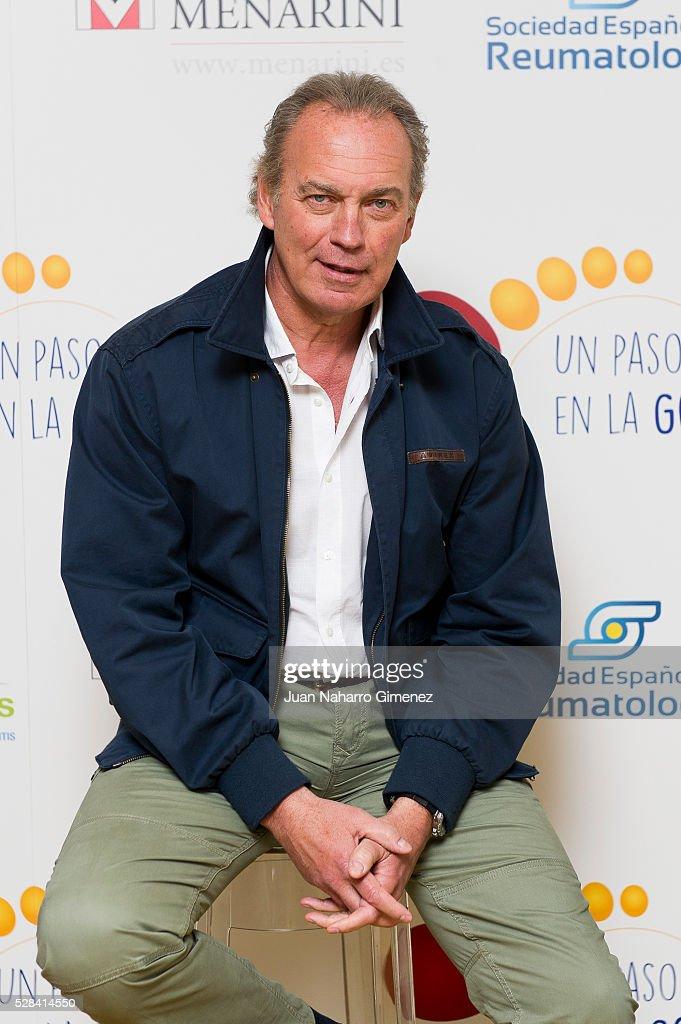 Bertin Osborne attends 'Un Paso + En La Gota' campaign presentation at Hotel de las Letras on May 5, 2016 in Madrid, Spain.