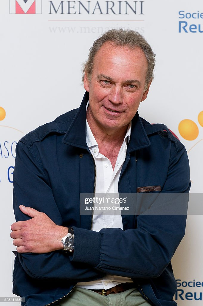 Bertin Osborne attends 'Un Paso + En La Gota' campaign presentation at Hotel de las Letras on May 5, 2016 in Madrid, Spain.
