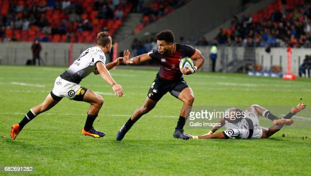 Berton Klaasen of the Southern Kings during the Super Rugby match between Southern Kings and Cell C Sharks at Nelson Mandela Bay Stadium on May 13...