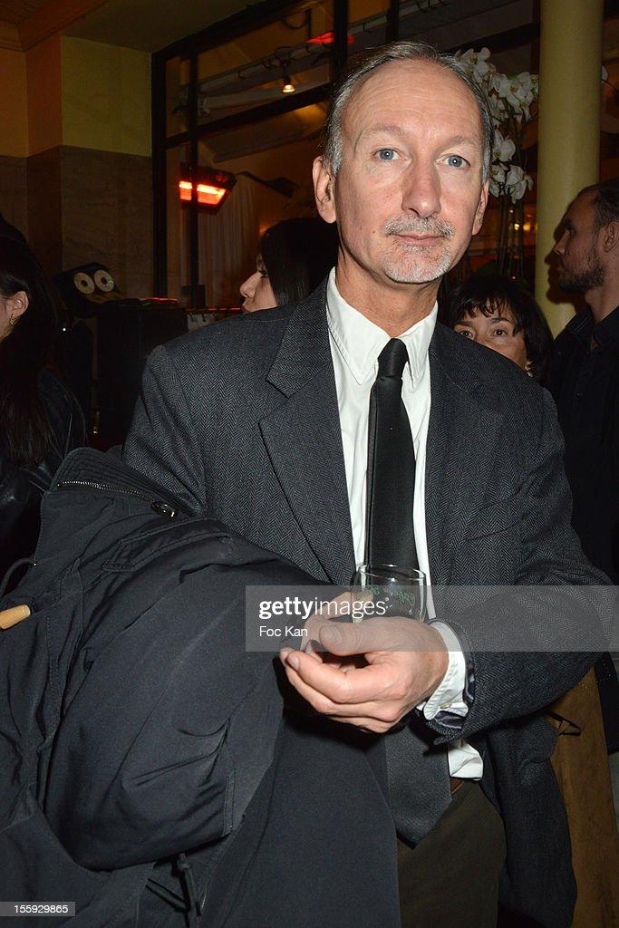 Bertrand de Saint Vincent attends the 'Prix De Flore 2012' - Literary Award Ceremony Party at the Cafe de Flore on November 8, 2012 in Paris, France.