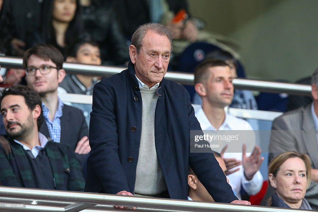 Celebrities At Paris Saint-Germain FC v Valenciennes FC - Ligue 1