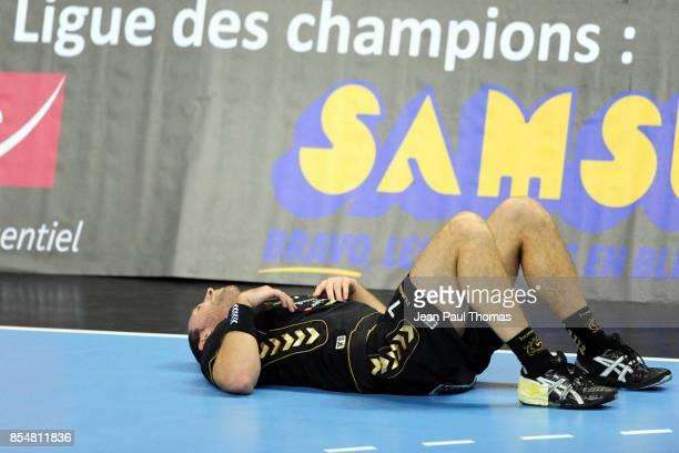 Bertrand ROINE Chambery / Vive Targi Kielce Ligue des Champions Phare Chambery