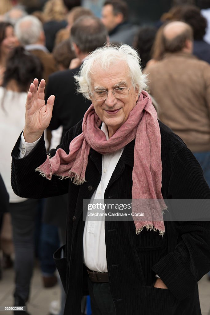Bertrand Tavernier attends the Remake of the 1st Movie of the Lumiere Brothers , during the 5th Lumiere Film Festival, in Lyon.