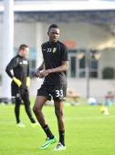 Bertrand Traore during the training camp of Vitesse Arnhem on Januari 6 2014 in Abu Dhabi United Arab Emirates