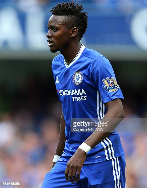 Bertrand Traore of Chelsea during the Barclays Premier League match between Chelsea and Leicester City at Stamford Bridge on May 15 2016 in London...