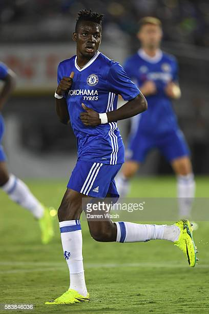 Bertrand Traore of Chelsea looks on during the 2016 International Champions Cup match between Chelsea and Liverpool on July 28 2016 in Los Angeles...
