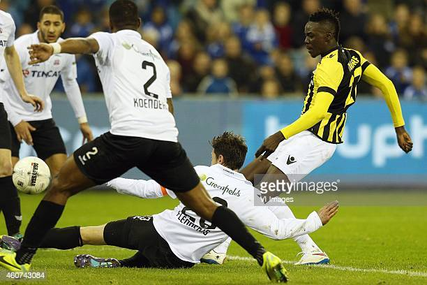 Bertrand Traore of Vitesse during the Dutch Eredivisie match between Vitesse Arnhem and Heracles Almelo at Gelredome on December 21 2014 in Arnhem...