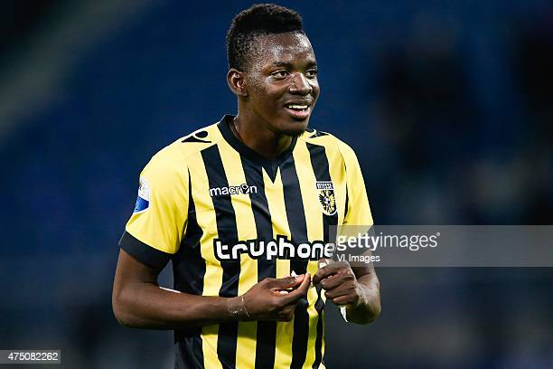 Bertrand Traore of Vitesse during the Europa League playoffs Final match between sc Heerenveen and Vitesse Arnhem at Abe Lenstra Stadium on May 28...