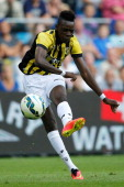 Bertrand Traore of Vitesse in action during the pre season friendly match between Vitesse Arnhem and Chelsea at the Gelredome Stadium on July 30 2014...