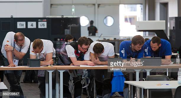 BerufeWeltmeisterschaft in Leipzig Vorbereitung der Wettbewerbsteilnehmer