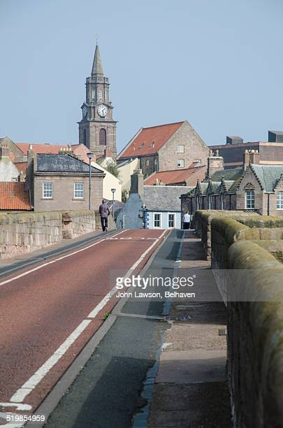 Berwick upon Tweed, Northumberland from Old Bridge