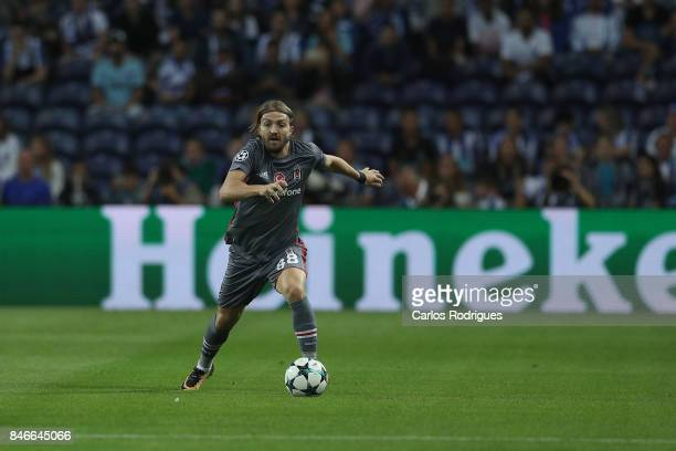 Besiktas defender Caner Erkin from Turkey during the match between FC Porto v Besiktas JK for the UEFA Champions League match at Centro de Treino do...