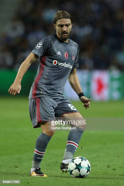 Besiktas defender Caner Erkin from Turkey during the match between FC Porto v Besiktas JK for the UEFA Champions League at Centro de Treino do Olival...