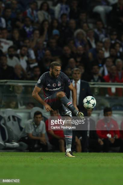 Besiktas forward Cenk Tosun from Turkey during the match between FC Porto v Besiktas JK for the UEFA Champions League at Estadio do Dragao on...