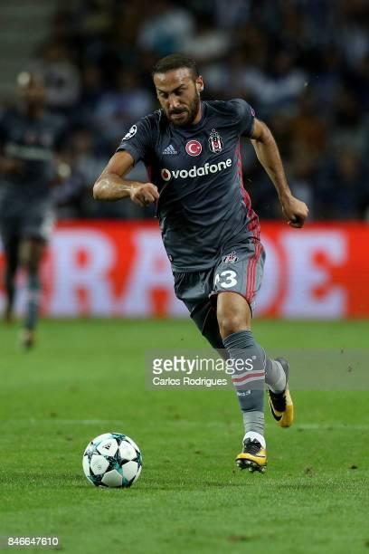 Besiktas forward Cenk Tosun from Turkey during the match between FC Porto v Besiktas JK for the UEFA Champions League at Centro de Treino do Olival...