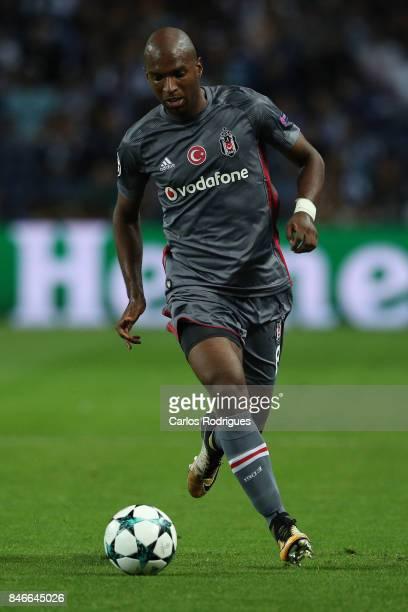 Besiktas forward Ryan Babel from Holland during the match between FC Porto v Besiktas JK for the UEFA Champions League match at Centro de Treino do...