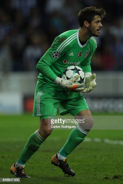 Besiktas goalkeeper Fabri from Spain during the match between FC Porto v Besiktas JK for the UEFA Champions League at Estadio do Dragao on September...
