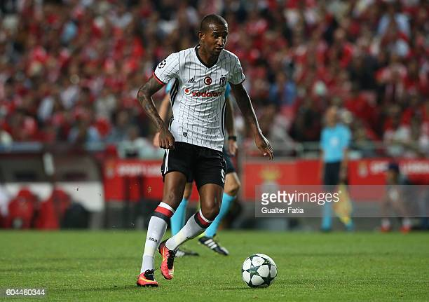 Besiktas JK's midfielder Talisca in action during the UEFA Champions League match between SL Benfica and Besiktas JK at Estadio da Luz on September...