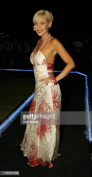 Bessie Bardot during Fashion TV and Red Ribbon Charity Gala at Sydney Opera House in Sydney NSW Australia